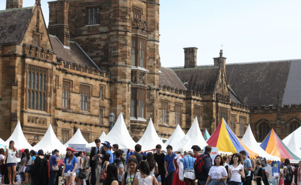Society stalls at Open Day
