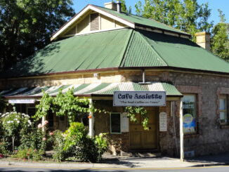 a cafe in Hahndorf