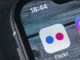 Fig 1: Flickr icon on a phone (Cha et al., 2008)