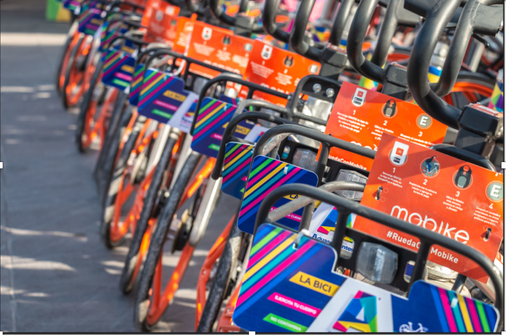 Bike sharing company, Mobike